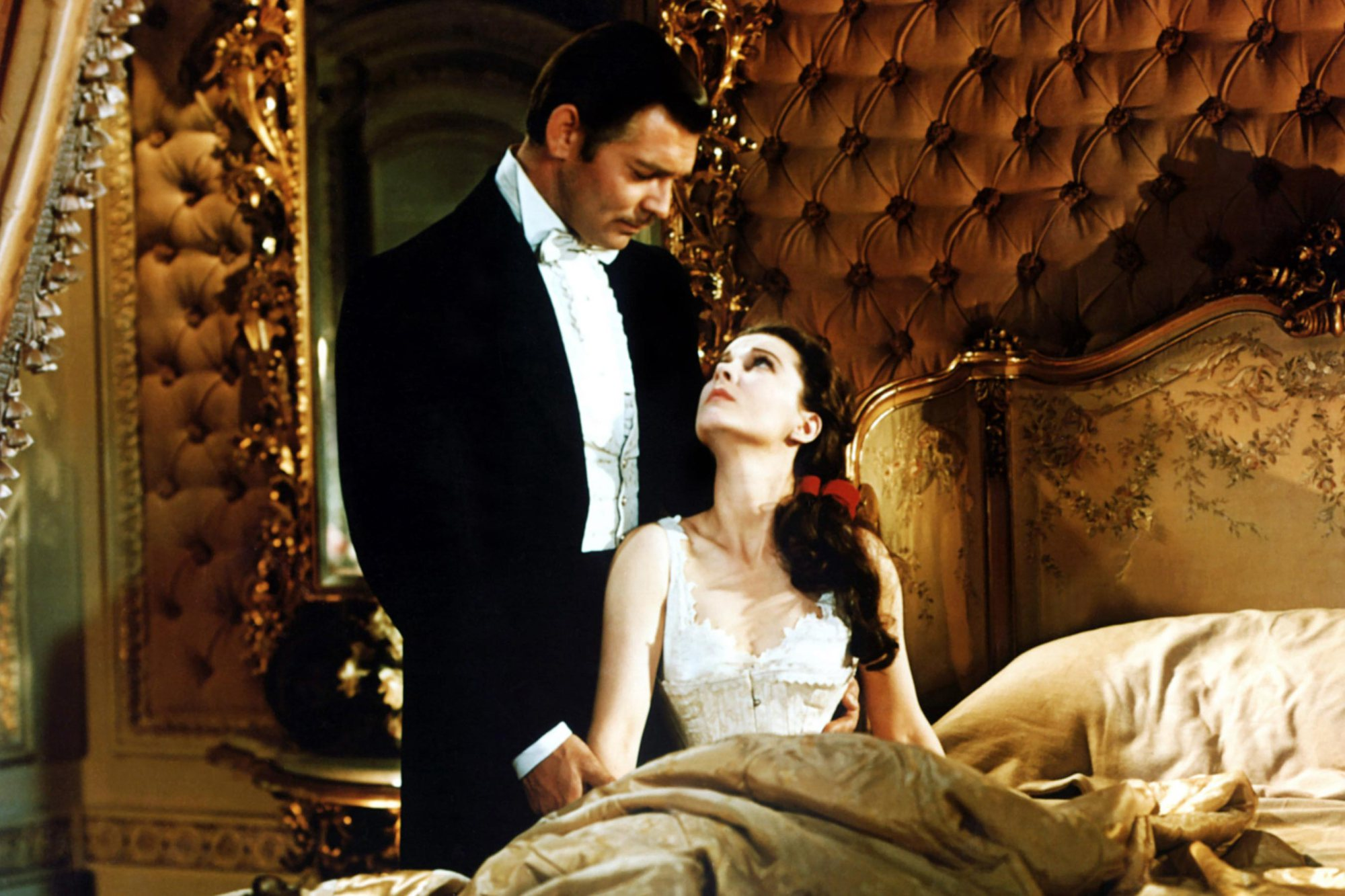 GONE WITH THE WIND, from left: Clark Gable, Vivien Leigh, 1939