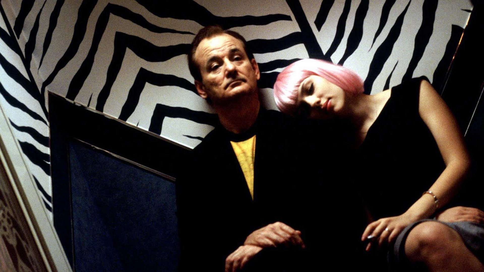 Lost in Translation Bill Murray Scarlett Johansson