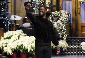 SATURDAY NIGHT LIVE -- Episode 1734 -- Pictured: Host Kevin Hart during a promo in 30 Rockefeller Plaza -- (Photo by: Rosalind O'Connor/NBC)