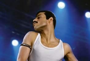 "Rami Malek as Freddie Mercury in ""Bohemian Rhapsody"""