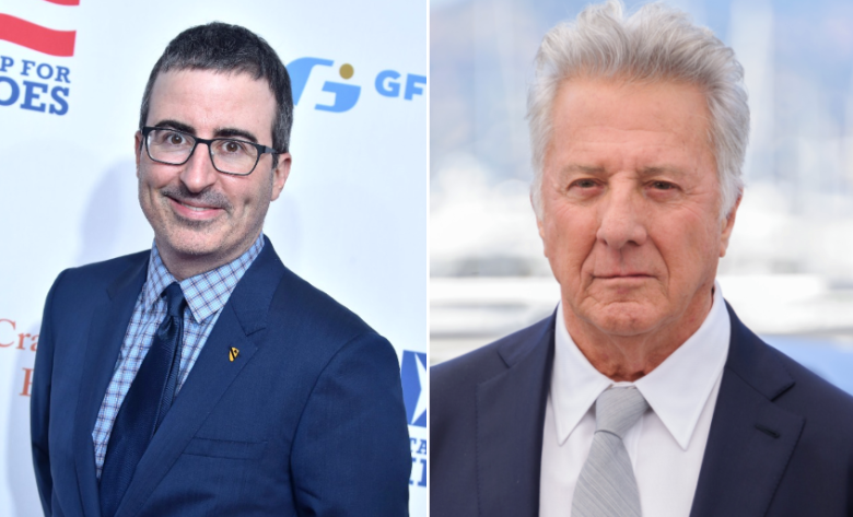 John Oliver Thinks His Conversation With Dustin Hoffman Failed