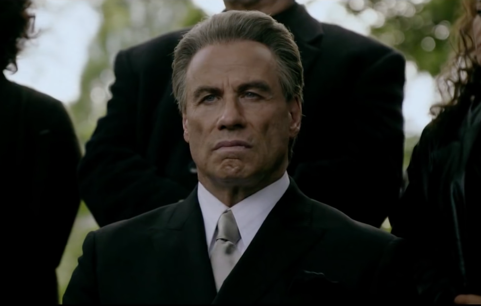 John Travolta says Gotti movie being pulled is 'fake news'