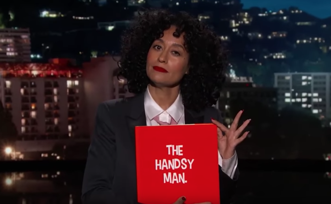 Tracee Ellis Ross explains sexual harassment to 'The Handsy Man'