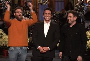 Saturday Night Live James Franco, Seth Rogen, Jonah Hill
