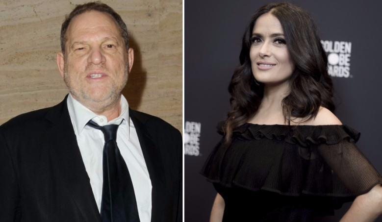Harvey Weinstein Responds to Salma Hayek: 'All of the Sexual Allegations Are Not Accurate'