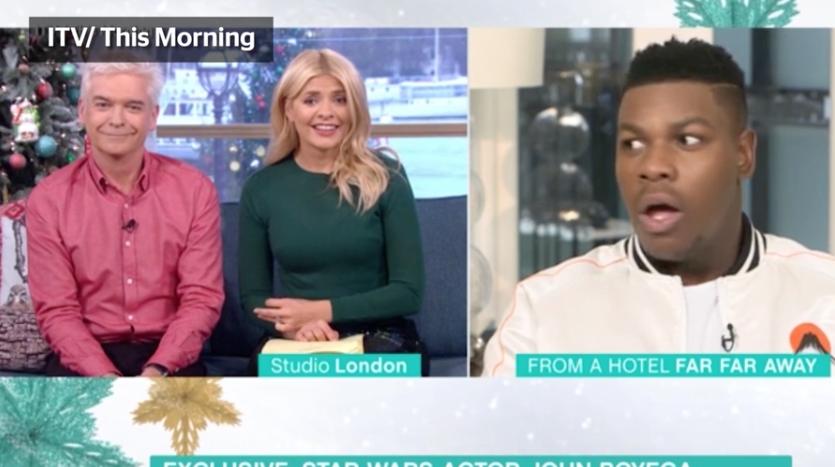 John Boyega is Stunned Speechless After Interviewer Reveals Massive 'Star Wars: The Last Jedi' Spoiler — Watch