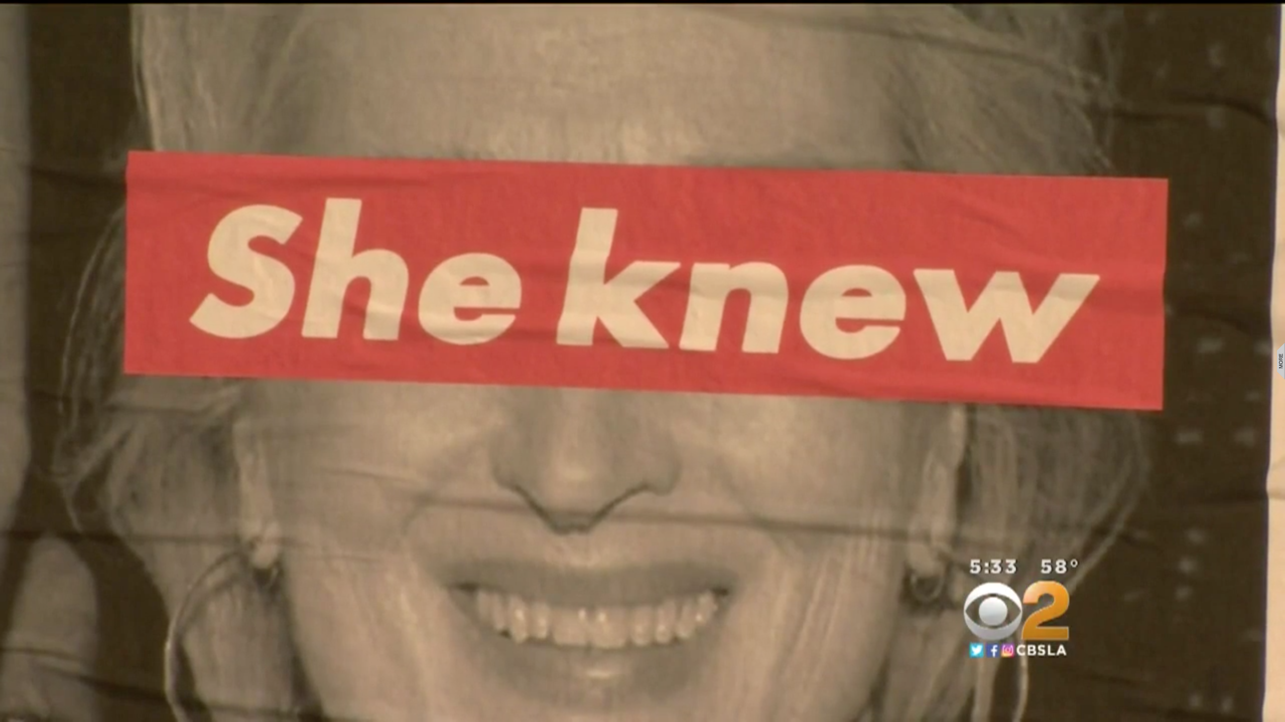 Posters attacking Meryl Streep for 'enabling' Harvey Weinstein appear