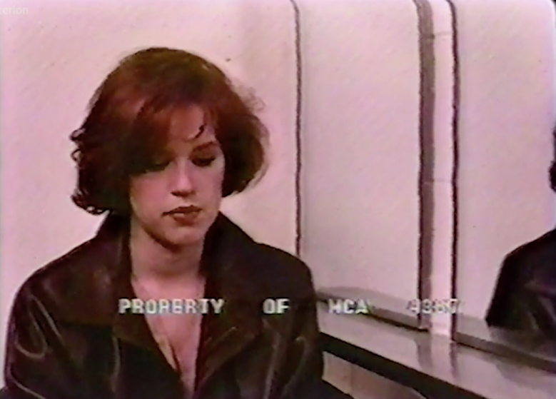 The Breakfast Club deleted scene Molly Ringwald