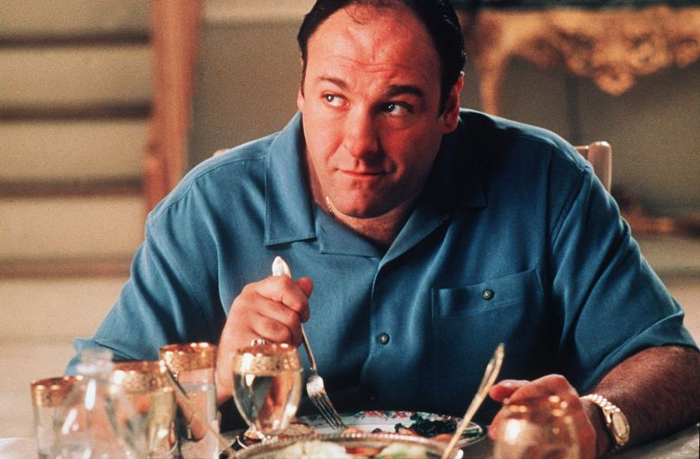 No Merchandising. Editorial Use Only. No Book Cover Usage.Mandatory Credit: Photo by Barry Wetcher/Hbo/Kobal/REX/Shutterstock (5886200m)James GandolfiniThe Sopranos - 1999HboUSATelevisionOpera