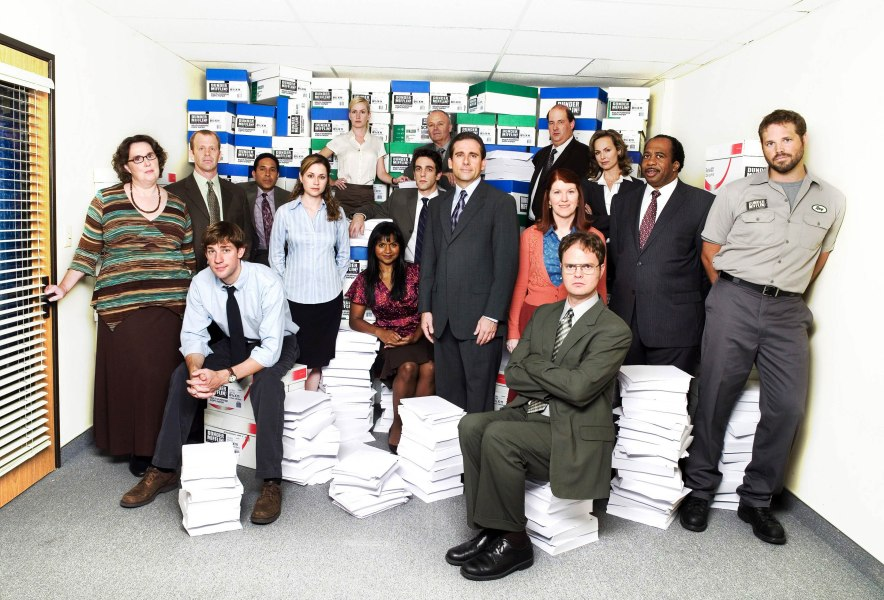 """The Office"" Cast, 2005"