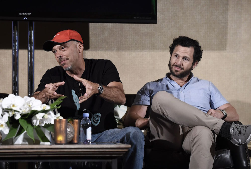 "Executive Producers Jose Padilha and Eric Newman speak on panel for ""Narcos"" at Keep Netflix Weird Panel at Netflix 2016 Summer TCA at the Beverly Hilton Hotel, in Los AngelesNetflix 2016 Summer TCA, Los Angeles, USA"