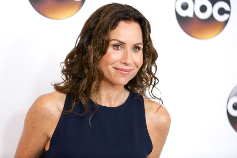 "Minnie Driver, a cast member in the television series ""Speechless,"" arrives at the Disney/ABC Television Critics Association summer press tour, in Beverly Hills, Calif2016 Summer TCA - Disney/ABC â?"" Red Carpet, Beverly Hills, USA - 4 Aug 2016"