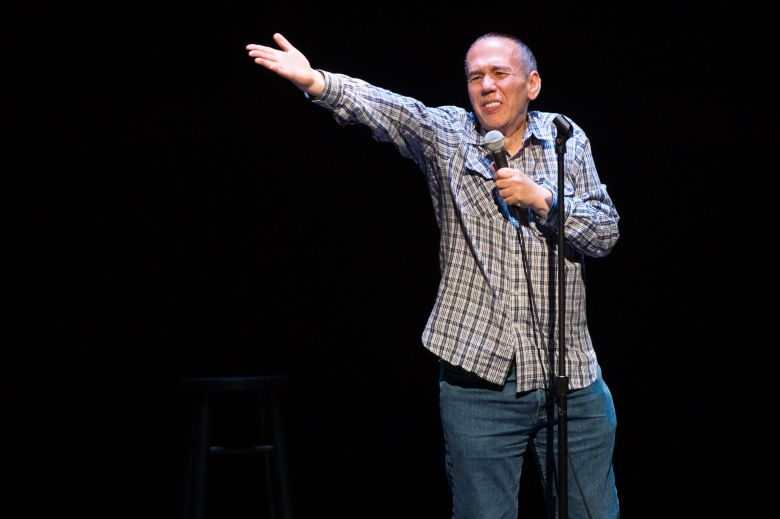 Comedian Gilbert Gottfried performs at a David Lynch Foundation Benefit for Veterans with PTSD at New York City Center, in New YorkDavid Lynch Foundation Benefit for Veterans with PTSD, New York, USA - 30 Apr 2016