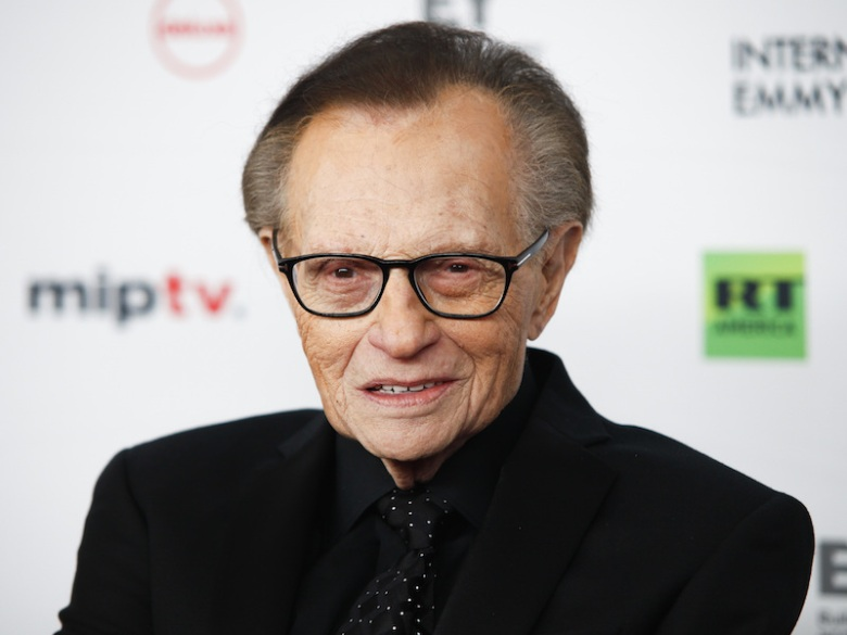 Larry King2017 International Emmys - Arrivals, New York, USA - 20 Nov 2017