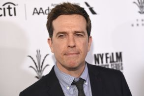 "Ed Helms arrives at the Los Angeles premiere of ""The Book of Love"" at Pacific Theatres at The Grove onLA Premiere of ""The Book of Love"" - Arrivals, Los Angeles, USA - 10 Jan 2017"