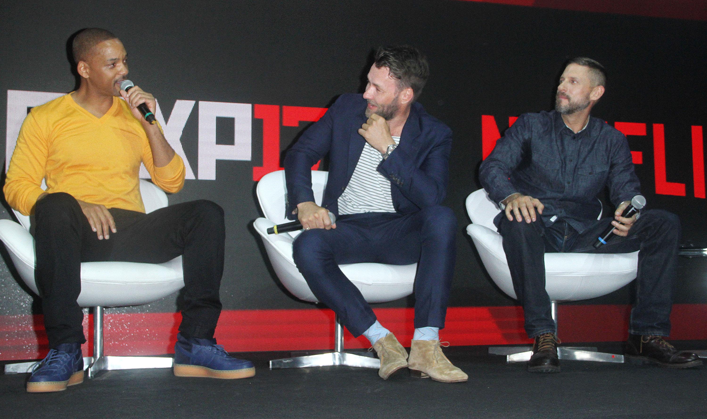 "Will Smith, Joel Edgerton, David Ayer'Bright' film photocall, Comic Con Experience, Sao Paulo, Brazil - 10 Dec 2017 Will Smith and Joel Edgerton promoting Netflix's upcoming film ""Bright"" at the 2017 Comic Con Experience in Sao Paulo - Brazil"