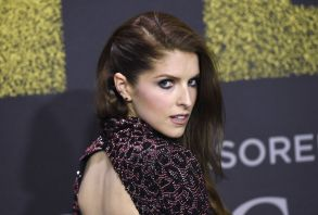 """Anna Kendrick arrives at the Los Angeles premiere of """"Pitch Perfect 3"""" at the Dolby Theatre onLA Premiere of """"Pitch Perfect 3"""", Los Angeles, USA - 12 Dec 2017"""