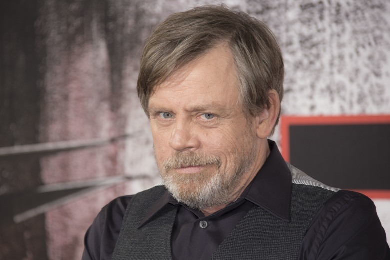 Mark Hamill poses for photographers upon arrival at the premiere of the film 'Star Wars: The Last Jedi' in London, Tuesday, Dec. 12th, 2017Britain Star Wars The Last Jedi Photo Call, London, United Kingdom - 13 Dec 2017