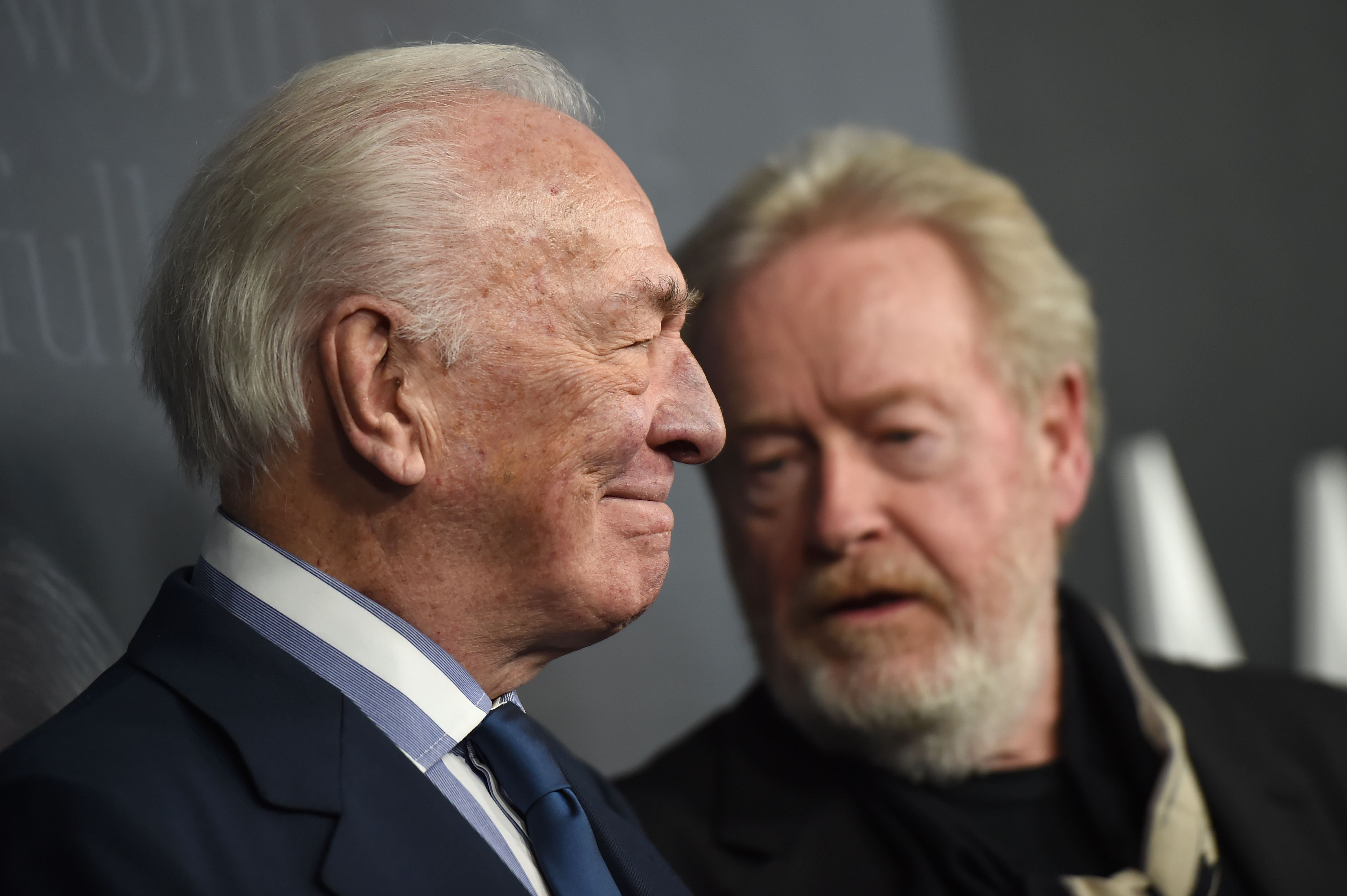 Christopher Plummer and Ridley Scott'All the Money in the World' film premiere, Los Angeles, USA - 18 Dec 2017
