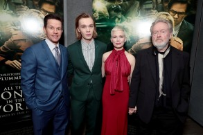 Mark Wahlberg, Charlie Plummer, Michelle Williams and Ridley Scott, Director/Producer,TriStar Pictures World Premiere of ALL THE MONEY IN THE WORLD, Beverly Hills, CA, USA - 18 December 2017