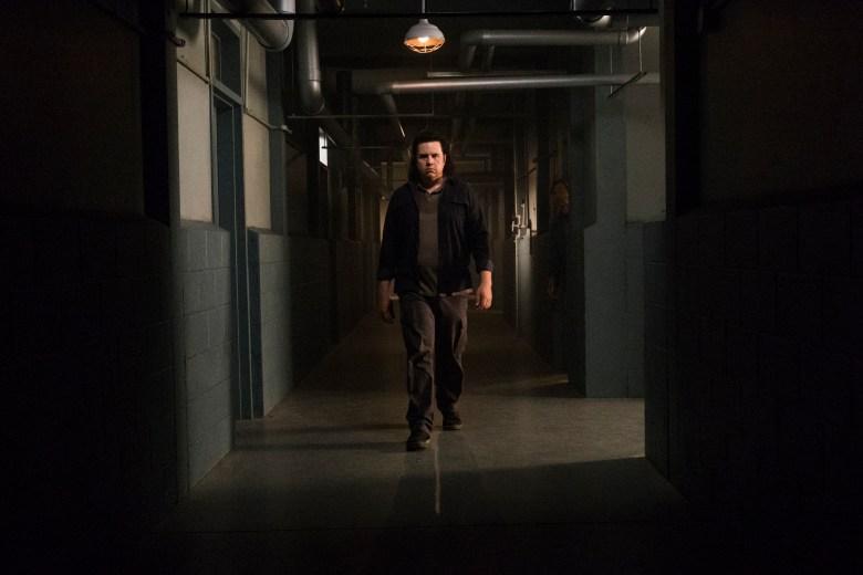 R. Keith Harris as Dr. Carson, Josh McDermitt as Dr. Eugene Porter - The Walking Dead _ Season 8, Episode 7 - Photo Credit: Gene Page/AMC