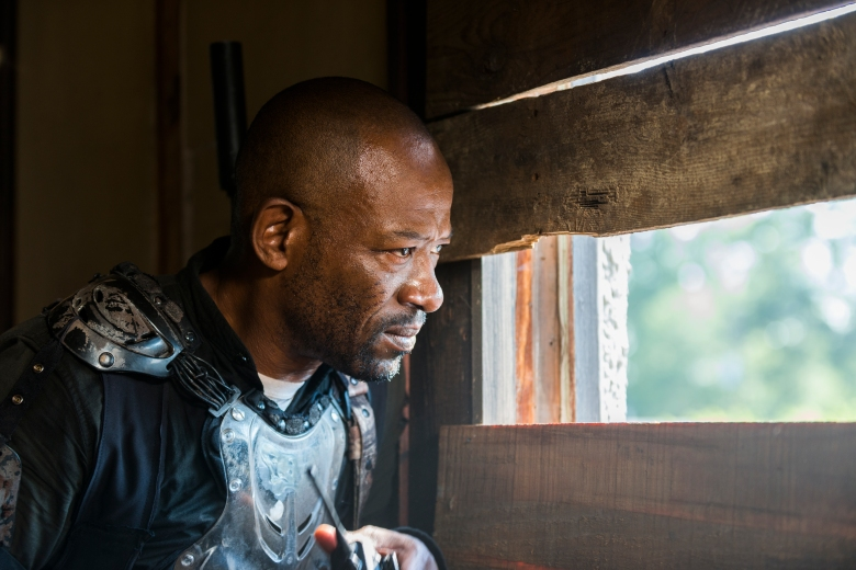 Lennie James as Morgan Jones - The Walking Dead _ Season 8, Episode 7 - Photo Credit: Gene Page/AMC