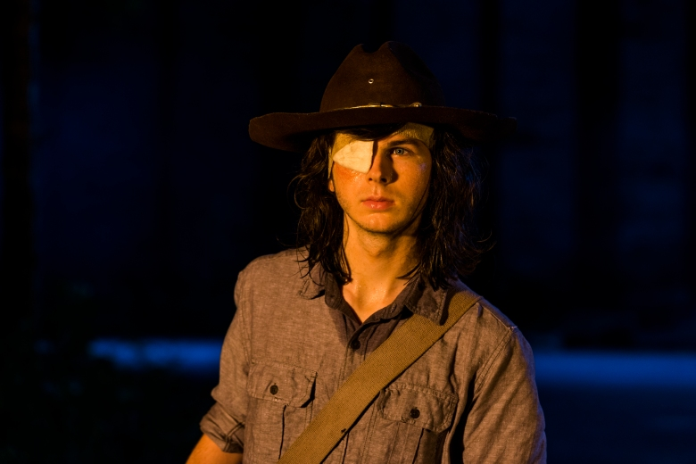Chandler Riggs as Carl Grimes - The Walking Dead _ Season 8, Episode 8 - Photo Credit: Gene Page/AMC