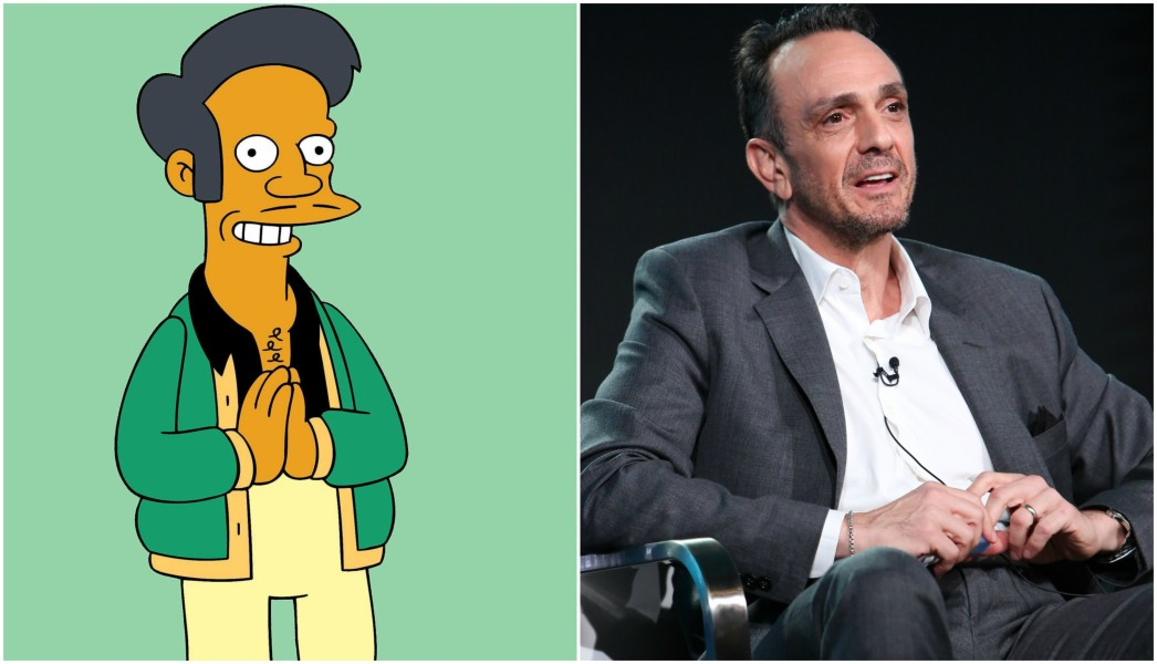 "Apu Nahasapeemapetilon voiced by Hank Azaria, ""The Simpsons"""