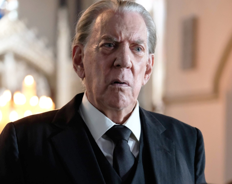 "TRUST -- The House of Getty"" -- Episode 1 (Airs Sunday, March 25, 10:00 p.m.) Pictured: Donald Sutherland as J. Paul Getty, Sr. CR: Oliver Upton/FX."