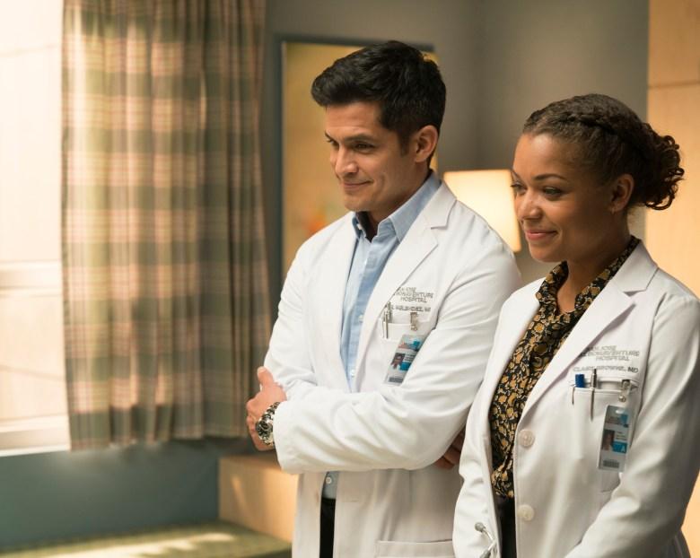 "Nicholas Gonzalez and Antonia Thomas, ""The Good Doctor"""