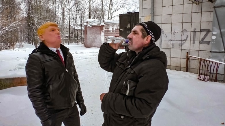 A film still from <i>Our New President</i> by Maxim Pozdorovkin, an official selection of the World Cinema Documentary Competition at the 2018 Sundance Film Festival. Courtesy of Sundance Institute. All photos are copyrighted and may be used by press only for the purpose of news or editorial coverage of Sundance Institute programs. Photos must be accompanied by a credit to the photographer and/or 'Courtesy of Sundance Institute.' Unauthorized use, alteration, reproduction or sale of logos and/or photos is strictly prohibited.