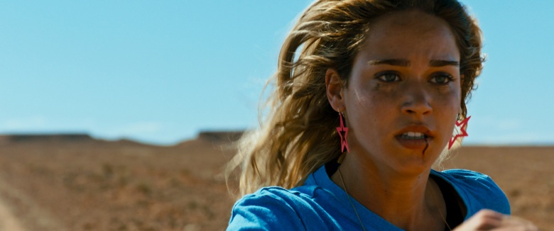 Matilda Lutz appears in <i>Revenge</i> by Coralie Fargeat, an official selection of the Midnight program at the 2018 Sundance Film Festival. Courtesy of Sundance Institute. All photos are copyrighted and may be used by press only for the purpose of news or editorial coverage of Sundance Institute programs. Photos must be accompanied by a credit to the photographer and/or 'Courtesy of Sundance Institute.' Unauthorized use, alteration, reproduction or sale of logos and/or photos is strictly prohibited.