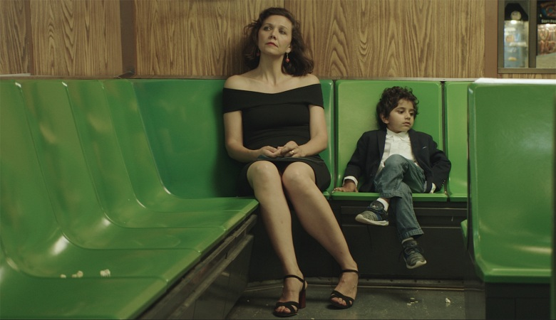 Maggie Gyllenhaal and Parker Sevak appear in <i>The Kindergarten Teacher</i> by Sara Colangelo, an official selection of the U.S. Dramatic Competition at the 2018 Sundance Film Festival. Courtesy of Sundance Institute.  All photos are copyrighted and may be used by press only for the purpose of news or editorial coverage of Sundance Institute programs. Photos must be accompanied by a credit to the photographer and/or 'Courtesy of Sundance Institute.' Unauthorized use, alteration, reproduction or sale of logos and/or photos is strictly prohibited.