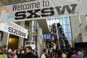 Crowds Move Through the Austin Convention Center on the Second Day of South by Southwest in Austin Texas Usa 08 March 2014 South by Southwest (sxsw) Conferences and Festivals Offer the Unique Convergence of Original Music Independent Films and Emerging Technologies United States AustinUsa South by Southwest - Mar 2014