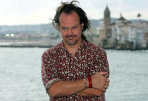 Us Film Maker Larry Fessenden Poses For the Press at the Sitges International Film Festival where He Presented His Latest Movie 'The Last Winter' in Sitges Spain 05 October 2007 the 40th Edition of the Festival Lasts Until 14 October Spain SitgesSpain Sitges Film Festival - Oct 2007
