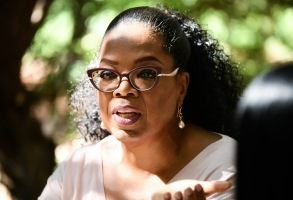 Oprah WinfreyOprah Winfrey's Gospel Brunch, Montecito, USA - 15 Oct 2017