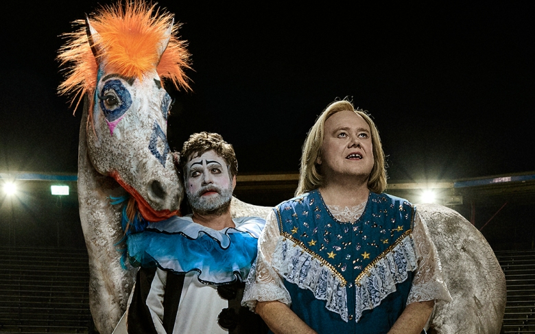 "Zach Galifianakis and Louie Anderson, ""Baskets"""