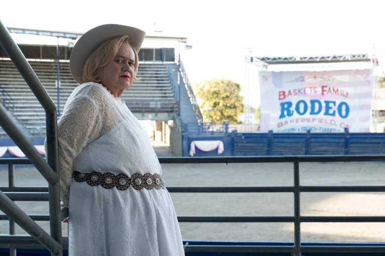 "BASKETS -- ""Wild Horses"" --Season 3, Episode 1 (Airs Tuesday, January 23, 10:00 pm/ep) -- Pictured: Louie Anderson as Christine Baskets. CR: Colleen Hayes/FX"