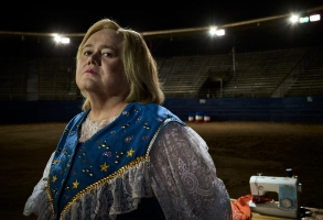 BASKETS -- Pictured: Louie Anderson as Christine Baskets. CR: Matthias Clamer/FX