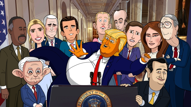 Our Cartoon President Showtime