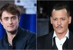 Daniel Radcliffe Johnny Depp