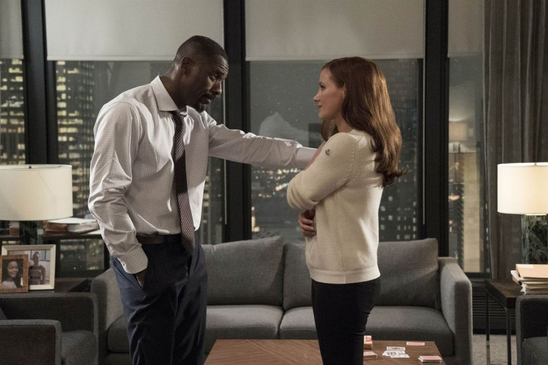 No Merchandising. Editorial Use Only. No Book Cover UsageMandatory Credit: Photo by Moviestore/REX/Shutterstock (9227603a)Idris Elba, Jessica ChastainMolly's Game - 2017