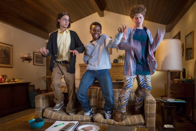 EVERYTHING SUCKS! Rio Mangini, Jahi Di'Allo Winston, Quinn Liebling Season 1 Netflix