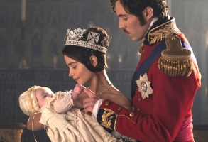 "Jenna Coleman and Tom Hughes, ""Victoria"""