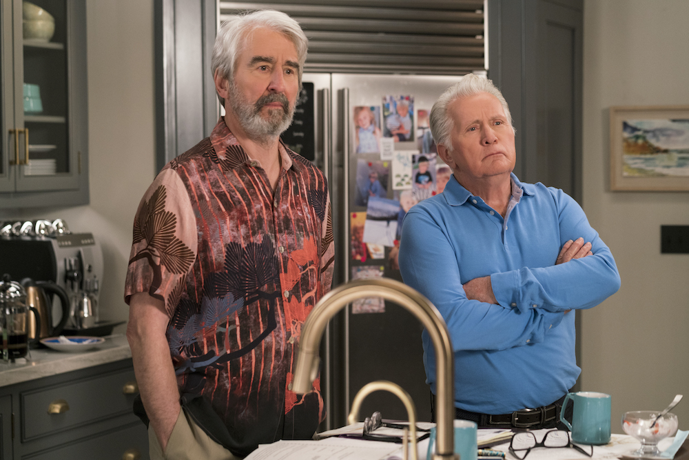 Grace and Frankie Season 4 Episode 3 Sam Waterston Martin Sheen