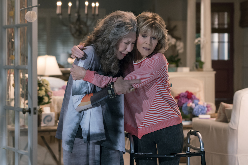 Grace and Frankie Season 4 Episode 9 Lily Tomlin Jane Fonda