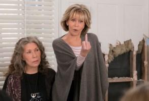 Grace and Frankie Season 4 Episode 12 Lily Tomlin Jane Fonda