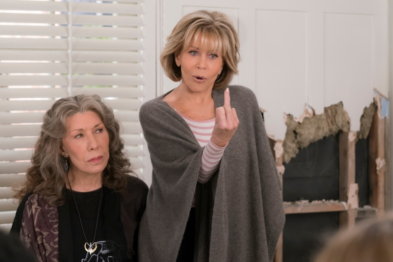 Grace and Frankie Season 4 Episode 12 Lily Tomlin Jane Fonda