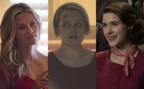 Golden Globes Predictions 2018 Big Little Lies Handmaid's Tale Marvelous Mrs. Maisel