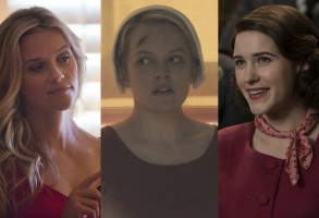 Golden Globes Predictions 2018 Big Little Lies Handmaid's Tale Marvelous Mrs. Maisel